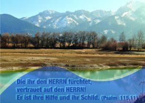 Forgensee - Psalm 115,11 - Christine Danzer -go4jesus