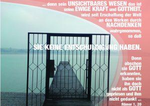 Das Tor zum Wasser - Römer 1,20 - Christine Danzer - go4jesus