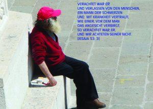 Mann in Venedig - Jesaja 53,3- Walter Danzer - go4jesus _