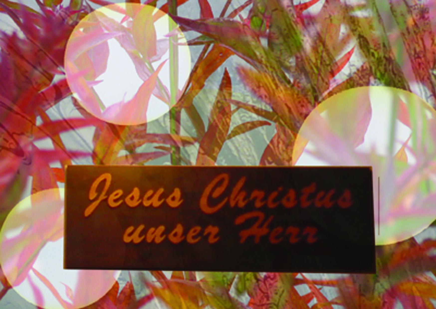 Jesus Christus - unser Herr- Christine Danzer -go4jesus