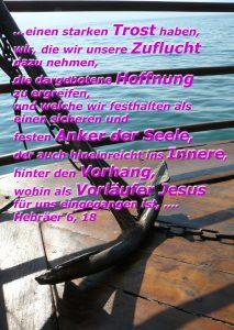 Anker See Genezareth-Hebräer 6,18 - Walter Hagel- go4jesus
