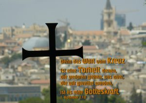 Jerusalem Kreuz- Walter Hagel -go4jesus