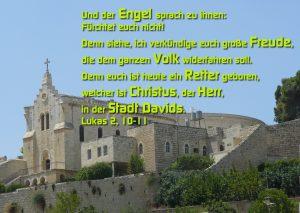 Bethlehem - Lukas 2, 10-11 - Walter Hagel -go4jesus