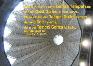 Verkündigunsbasilika- 1. Korinther 3, 16-16 -Walter Hagel - go4jesus