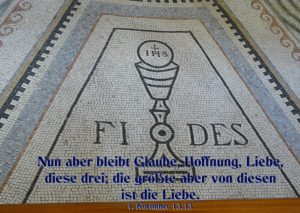 Mosaik- Glaube- Fides-Walter Hagel -go4jesus