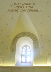 Hosanna Rex Israel - Hilf Herr König Israels - Walter Hagel -go4jesus