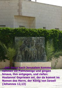 Jesus Palmsonntag - Johannes 12 - Walter Hagel -go4jesus