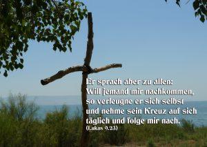 Kreuz am See Genezareth - Walter Hagel -go4jesus