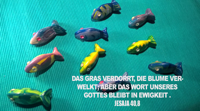 Fische Links-go 4 jesus - Christine Danzer - Bibel