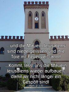 Burg - Nehemia - Christine Danzer - go 4 jesus