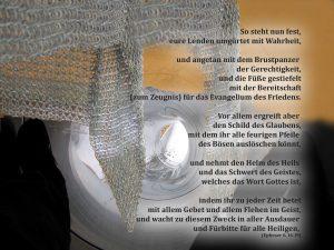 Kettenhemd - Waffenrüstung Gottes- Bibelzitat Epheser 6 - Christine Danzer - go 4 jesus