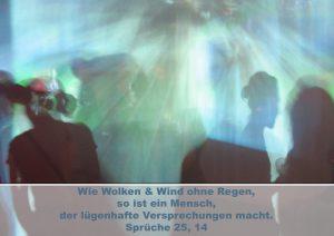 Lichtschattenspiel - Bibelzitat Sprüche 25,14 - Christine Danzer - go 4 jesus