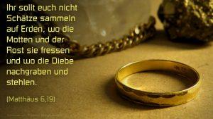 Schmuck- Mt 6,19 Fabian Will - go 4 jesus
