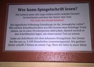 Beschreibung- Druckerplatte - Johannes Evangelium - Christine Danzer - go4jesus