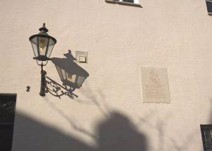 Gedenktafel - Luther im Karmelitenkloster - St. Anna- AugsurtChristine Danzer - go 4 jesus
