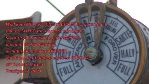 Schiff- Prediger 7, 20 -21- Bibel - Christine Danzer - go 4 jesus - Bild mit Bibelzitat