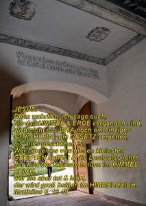 Eingang Lutherhaus- Wittenberg - Christine Danzer - go_4_jesus - Matthäus 5, Bibel