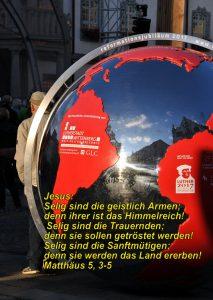Wittenberg- Rathauspl - Reformationsskulptur - Christine Danzer - go_4_jesus - Mt5,3-5 -Bibel
