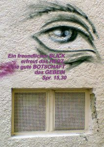 Auge_Graffiti Sprüche 15, 30- go_4_jesus- bibel