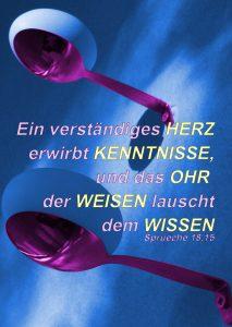 Eier an der Wand - Sprüche 18, 1- Christine Danzer - go 4 jesus -bibel