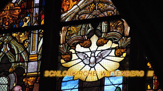 Wittenberg - Schlosskirche - Fensterbild - Christine Danzer - go jesus