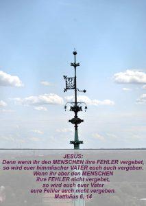 Wittenberg - Schlosskirche - kl. glockenturm - Matthäus 6, 14 - Bibel - Christine Danzer - go 4 jesus
