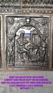 Lukas Kachel - Kachelofen Lutherhaus - Wittenberg - go 4 Jesus - Jesus lehrte - Bibel - Christine Danzer