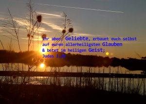 Sonnenunterganzg -Erbauung Judas 1, Foto: Christine Danzer, go 4 Jesus, Bibel