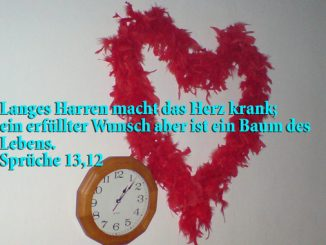 HErz, Spüche 13,12, Foto: Christine Danzer go 4 Jesus