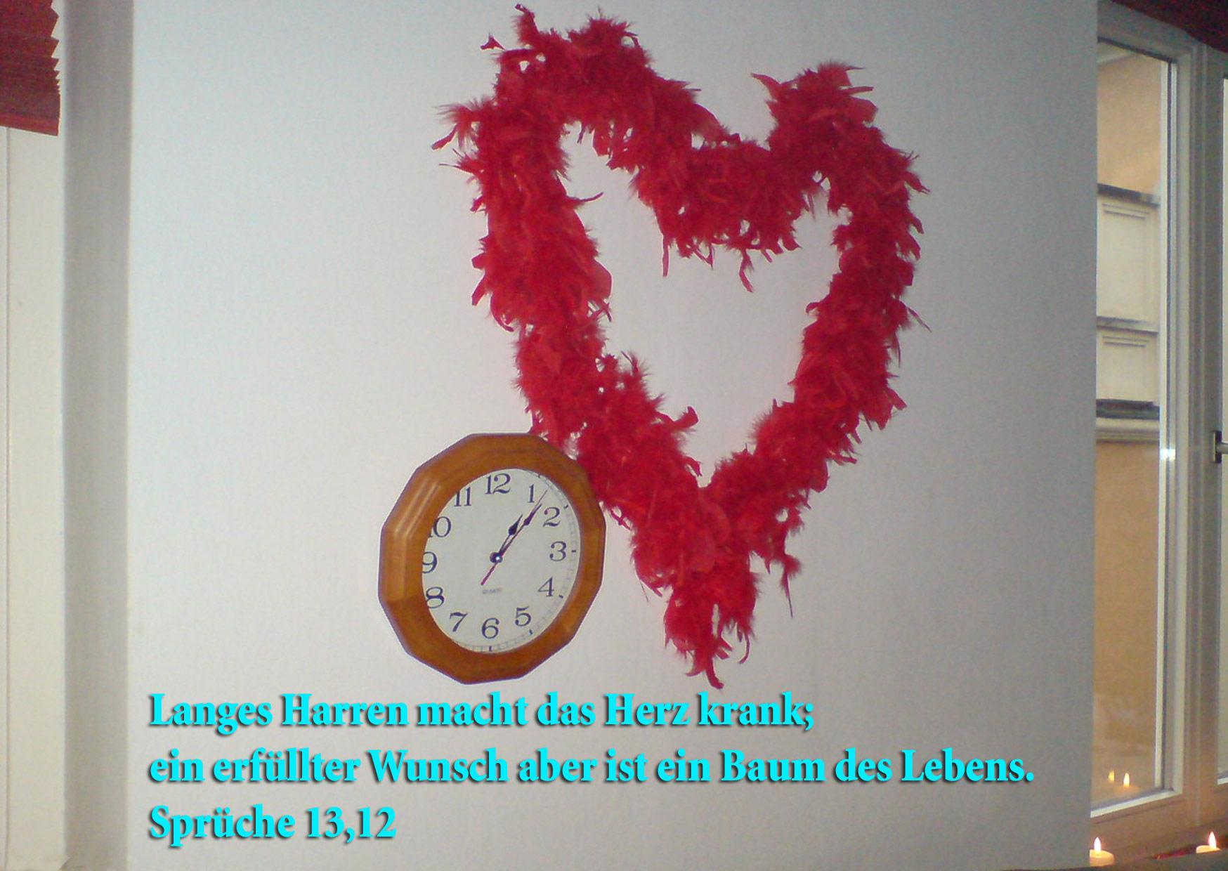 Herz, Sprüche13,12 Foto: Christine Danzer go 4 Jesus,