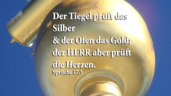 Bibelzitat, Sprüche 17,3