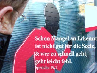 Bibelzitat, Sprüche 19,2, Foto: Danzer, Walter, go 4 Jesus, Bibel