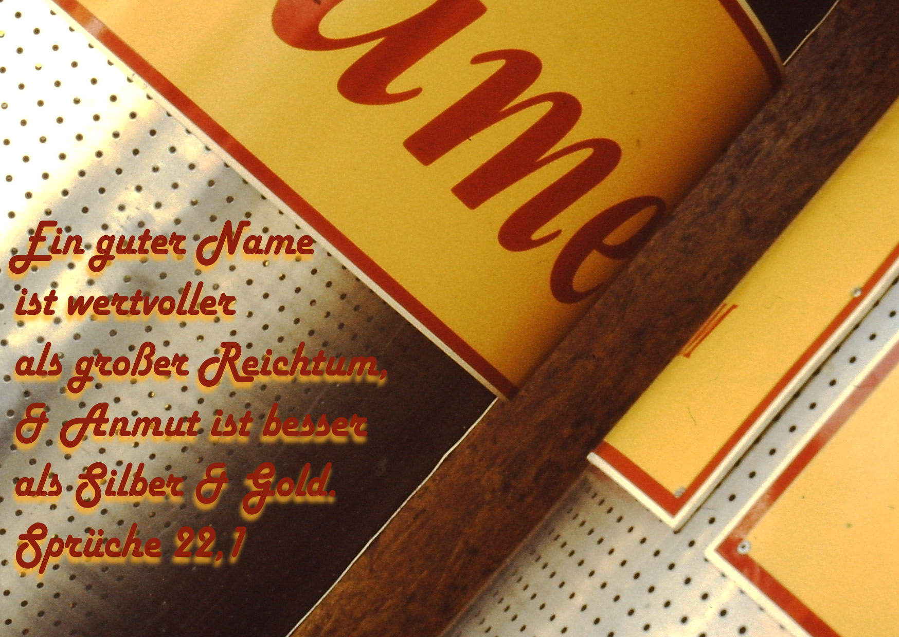 Bibelzitat, Sprüche, Name, Foto: Danzer, Walter, go 4 Jesus, Bibel