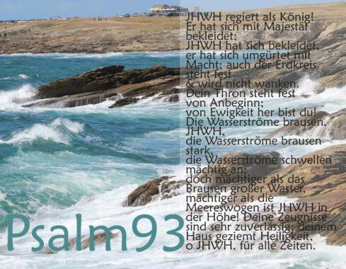 Bibel, Brandung mit Psalm 93, Foto: Thomas Hoffmann, go 4 Jesus