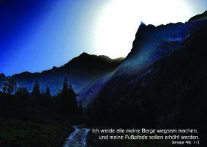 Berg - Jesaja_49-11 -Walter Danzer - go4jesus