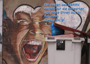 Graffiti Schrei - Ps.34;15 - Christine Danzer -go4jesus