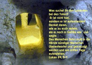 Grab Josephs in Nazareth - Lukas 24, 5-7 - Walter Hagel - go4jesus