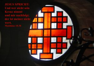 Jerusalemer Kreuz - Mt 10, 38 - Hagel Walter