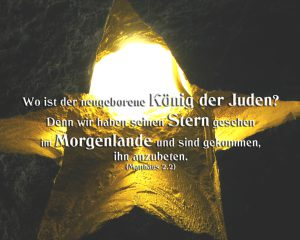 Stern in der Grotte Bethlehem- Walter Hagel -go4jesus