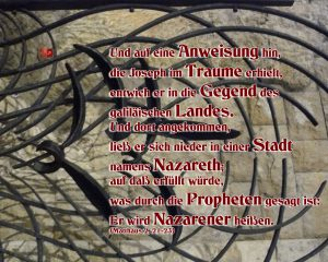 Zaun- Nazareth- Walter Hagel -go4jesus