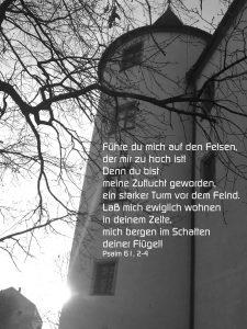 Turm - Psalm 61,2 -4 - Christine Danzer - go 4 jesus