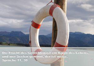Rettungsring - Bibelzitat Sprüche 11,30 - Christine Danzer - go 4 jesus