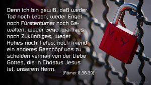 Schloss- Römer 8, 38- 39- Fabian Will - go 4 jesus