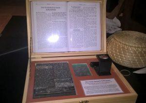 Gutenberg- Schriftsatz bewegliche Lettern -Christine Danzer -