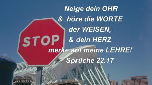 Valencia Sciens de la arte - Sprüche 22,17 - Bibel -Christine Danzer - go4jesus - Bild mit Bibelzitat
