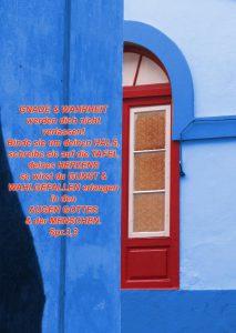 Rote Tür - Gnade- Sprüche 3,3 - Christine Danzer - go 4 jesus