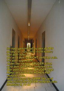 Luthermuseum-Gang Matthäus 5,21 -Bibel-Christine Danzer - go 4 jesus -