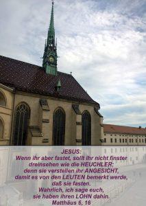 Wittenberg 23 -Schlosskirche - Matthäus 6,16 - Bibel - Christine Danzer - go 4 jesus