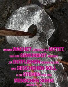 Eisgesicht- Lukas 21, 36- Christine Danzer - go 4 jesus - Bibel