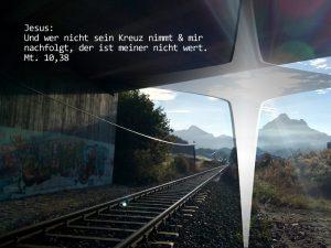 Blick Richtung Säuling - Matthäus 10,38 - Foto: Christine Danzer - go 4 Jesus - Bibel
